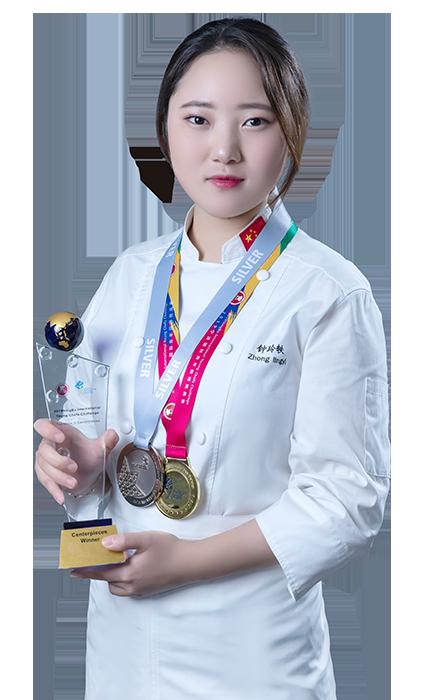 钟玲轶-糖艺西点冠军